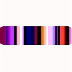 Fun Striped Background Design Pattern Large Bar Mats