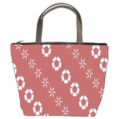 Abstract Pattern Background Wallpaper In Pastel Shapes Bucket Bags