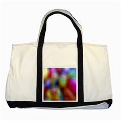 A Mix Of Colors In An Abstract Blend For A Background Two Tone Tote Bag by Amaryn4rt