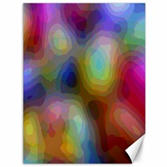 A Mix Of Colors In An Abstract Blend For A Background Canvas 36  X 48   by Amaryn4rt