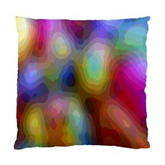 A Mix Of Colors In An Abstract Blend For A Background Standard Cushion Case (one Side) by Amaryn4rt