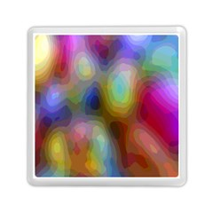 A Mix Of Colors In An Abstract Blend For A Background Memory Card Reader (square)  by Amaryn4rt