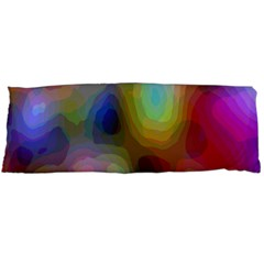A Mix Of Colors In An Abstract Blend For A Background Body Pillow Case (dakimakura) by Amaryn4rt