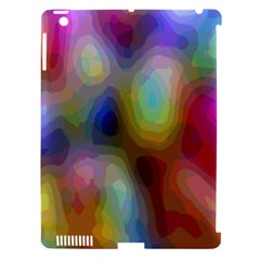 A Mix Of Colors In An Abstract Blend For A Background Apple Ipad 3/4 Hardshell Case (compatible With Smart Cover) by Amaryn4rt