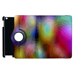 A Mix Of Colors In An Abstract Blend For A Background Apple Ipad 3/4 Flip 360 Case by Amaryn4rt
