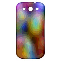 A Mix Of Colors In An Abstract Blend For A Background Samsung Galaxy S3 S Iii Classic Hardshell Back Case by Amaryn4rt