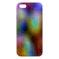A Mix Of Colors In An Abstract Blend For A Background Iphone 5s/ Se Premium Hardshell Case by Amaryn4rt