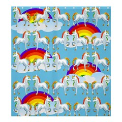 Rainbow Pony  Shower Curtain 66  X 72  (large)  by Valentinaart