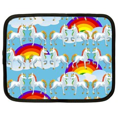 Rainbow Pony  Netbook Case (xl)
