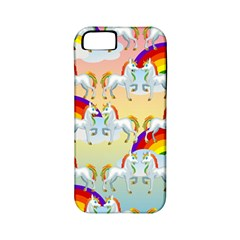 Rainbow Pony  Apple Iphone 5 Classic Hardshell Case (pc+silicone)