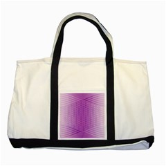 Abstract Lines Background Two Tone Tote Bag by Amaryn4rt