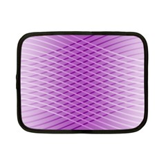 Abstract Lines Background Netbook Case (small)  by Amaryn4rt