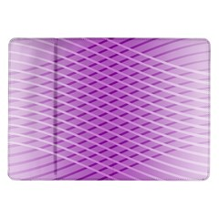 Abstract Lines Background Samsung Galaxy Tab 10 1  P7500 Flip Case by Amaryn4rt