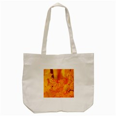 Bright Yellow Autumn Leaves Tote Bag (cream) by Amaryn4rt