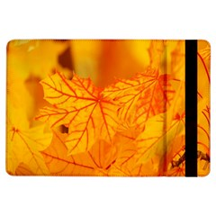 Bright Yellow Autumn Leaves Ipad Air Flip by Amaryn4rt