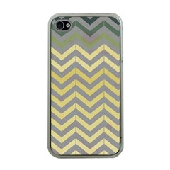 Abstract Vintage Lines Apple Iphone 4 Case (clear)
