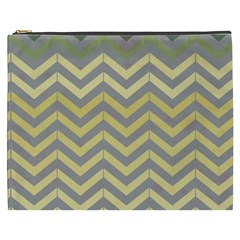 Abstract Vintage Lines Cosmetic Bag (xxxl)  by Amaryn4rt