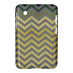 Abstract Vintage Lines Samsung Galaxy Tab 2 (7 ) P3100 Hardshell Case  by Amaryn4rt