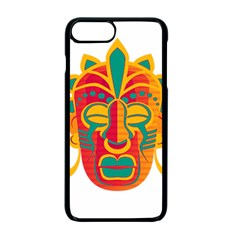 Mask Apple Iphone 7 Plus Seamless Case (black) by Valentinaart