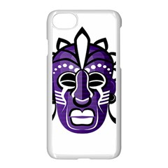 Mask Apple Iphone 7 Seamless Case (white) by Valentinaart