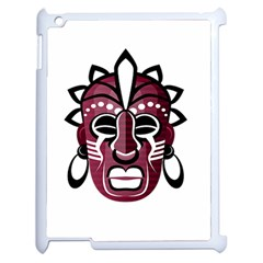 Mask Apple Ipad 2 Case (white) by Valentinaart