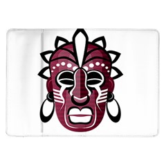 Mask Samsung Galaxy Tab 10 1  P7500 Flip Case by Valentinaart
