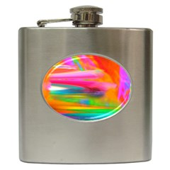 Abstract Illustration Nameless Fantasy Hip Flask (6 Oz)