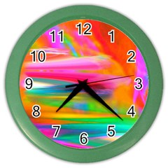Abstract Illustration Nameless Fantasy Color Wall Clocks by Amaryn4rt