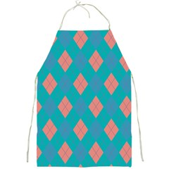 Plaid Pattern Full Print Aprons