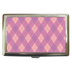 Plaid Pattern Cigarette Money Cases