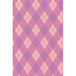 Plaid pattern 5.5  x 8.5  Notebooks Back Cover