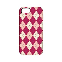 Plaid Pattern Apple Iphone 5 Classic Hardshell Case (pc+silicone) by Valentinaart