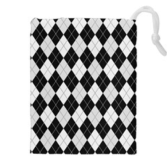 Plaid Pattern Drawstring Pouches (xxl)