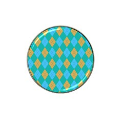 Plaid Pattern Hat Clip Ball Marker (4 Pack) by Valentinaart