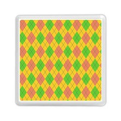 Plaid Pattern Memory Card Reader (square)  by Valentinaart