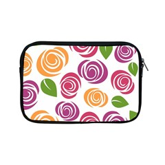 Colorful Seamless Floral Flowers Pattern Wallpaper Background Apple Ipad Mini Zipper Cases by Amaryn4rt