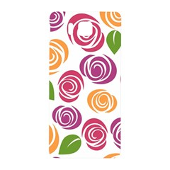 Colorful Seamless Floral Flowers Pattern Wallpaper Background Samsung Galaxy Alpha Hardshell Back Case
