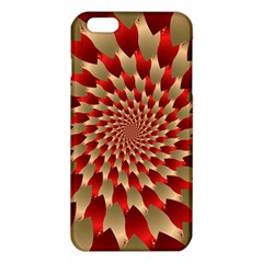 Fractal Red Petal Spiral Iphone 6 Plus/6s Plus Tpu Case by Amaryn4rt