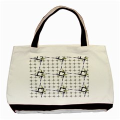 Fractal Design Pattern Basic Tote Bag (two Sides) by Amaryn4rt