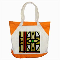 A Detail Of A Stained Glass Window Accent Tote Bag by Amaryn4rt
