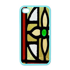 A Detail Of A Stained Glass Window Apple Iphone 4 Case (color)
