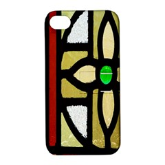 A Detail Of A Stained Glass Window Apple Iphone 4/4s Hardshell Case With Stand by Amaryn4rt