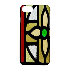 A Detail Of A Stained Glass Window Apple Iphone 7 Hardshell Case by Amaryn4rt