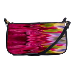 Abstract Pink Colorful Water Background Shoulder Clutch Bags by Amaryn4rt