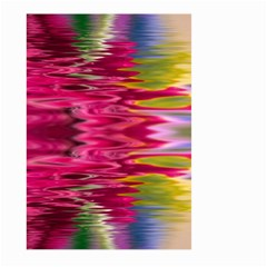 Abstract Pink Colorful Water Background Large Garden Flag (two Sides) by Amaryn4rt