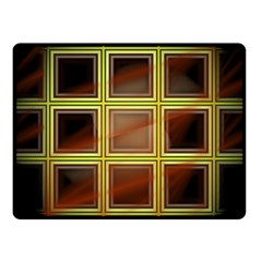 Drawing Of A Color Fractal Window Fleece Blanket (small) by Amaryn4rt