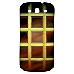 Drawing Of A Color Fractal Window Samsung Galaxy S3 S Iii Classic Hardshell Back Case by Amaryn4rt