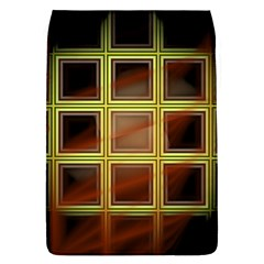 Drawing Of A Color Fractal Window Flap Covers (l)  by Amaryn4rt