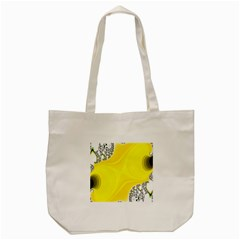 Fractal Abstract Background Tote Bag (cream)