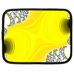 Fractal Abstract Background Netbook Case (large) by Amaryn4rt